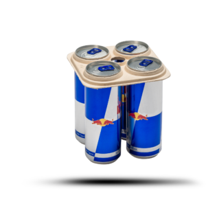 Pulp-Tec Faserguss Dosenverpackung Trasportschutz