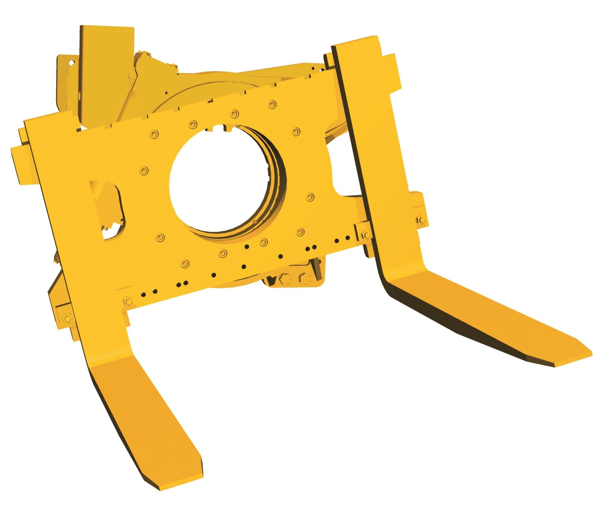 hydraulisches Drehgerät 360° endlos