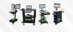 Mobile Arbeitsplätze mit dem PowerSwap Nucleus® Lithium Power System