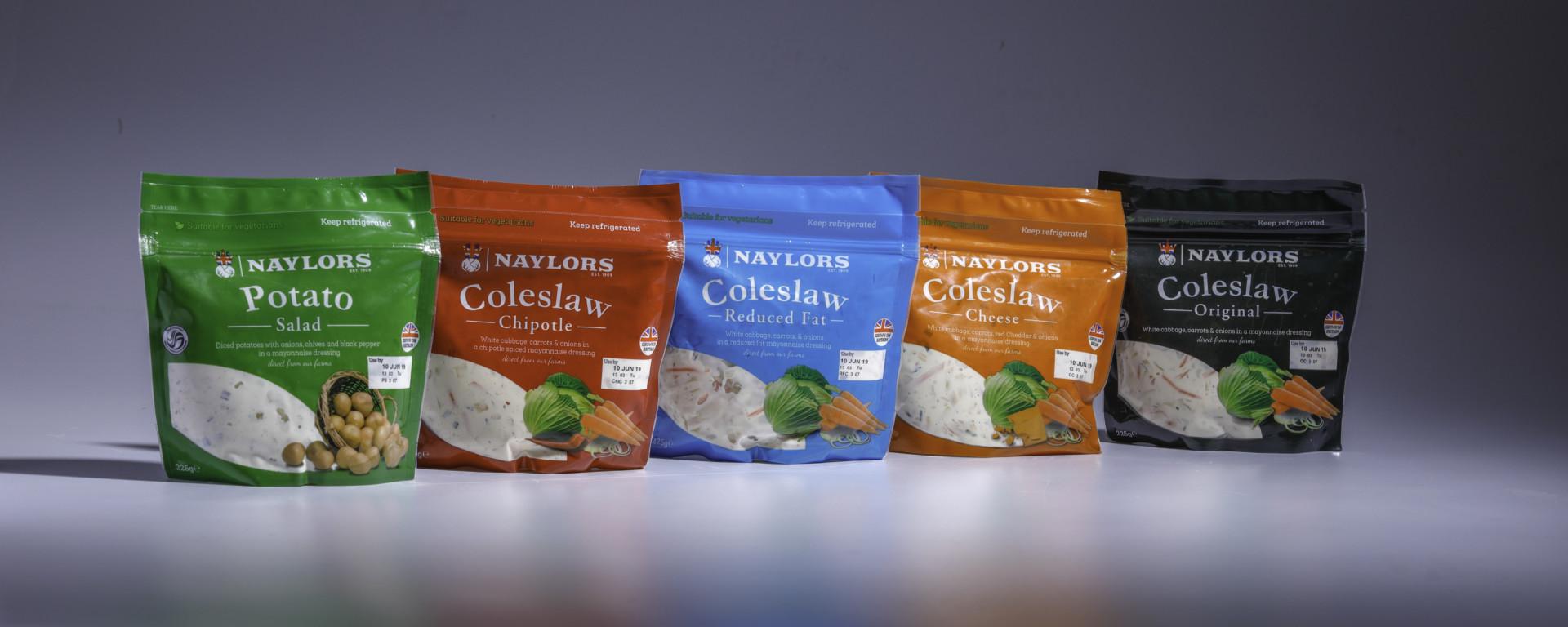 Einfacher geht's nicht: Naylor Farms' servierfertiger Krautsalat im wiederverschliessbaren Schur®Star Standbodenbeutel