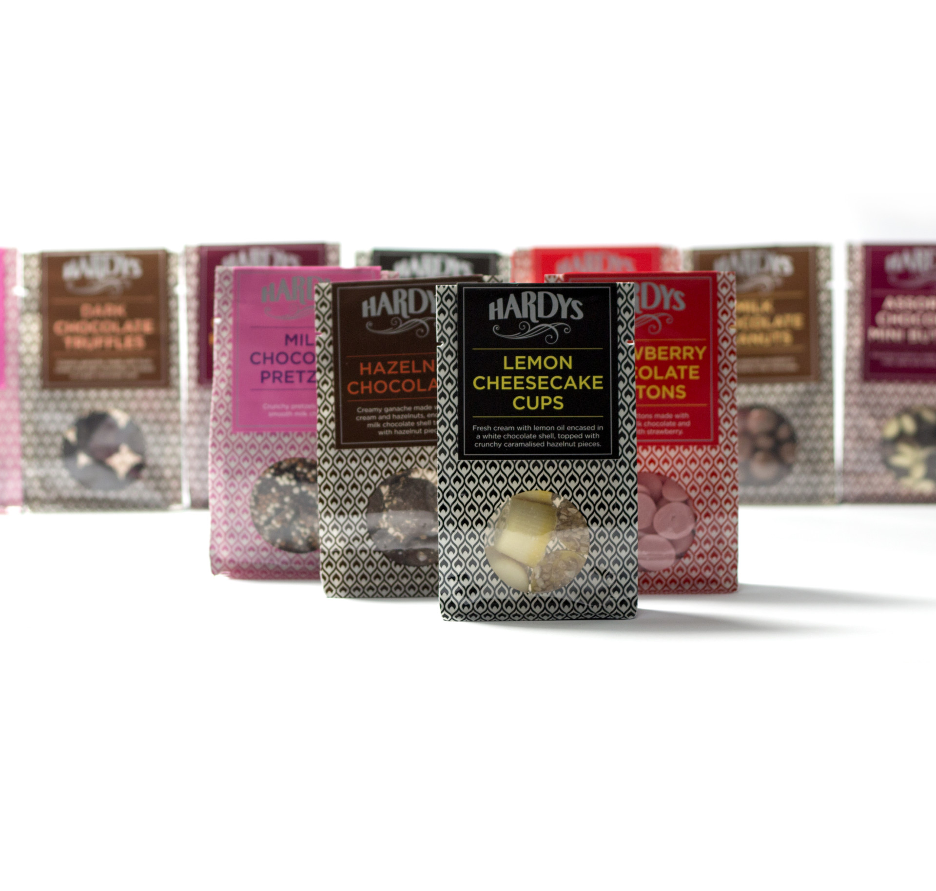 Für Chocolatier Hardys ist der Schur®Star Box Bag auffallend anders