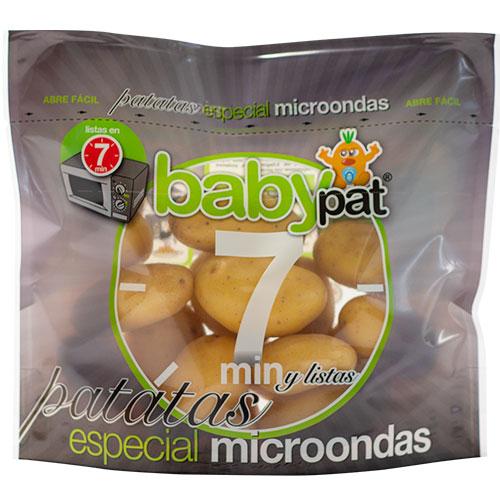 Komfortable Lösung von Patatas Hijolusa im Schur®Star Mikrowellenbeutel