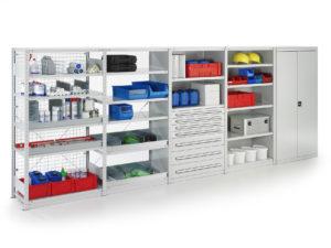 META QUICK boltless shelving system