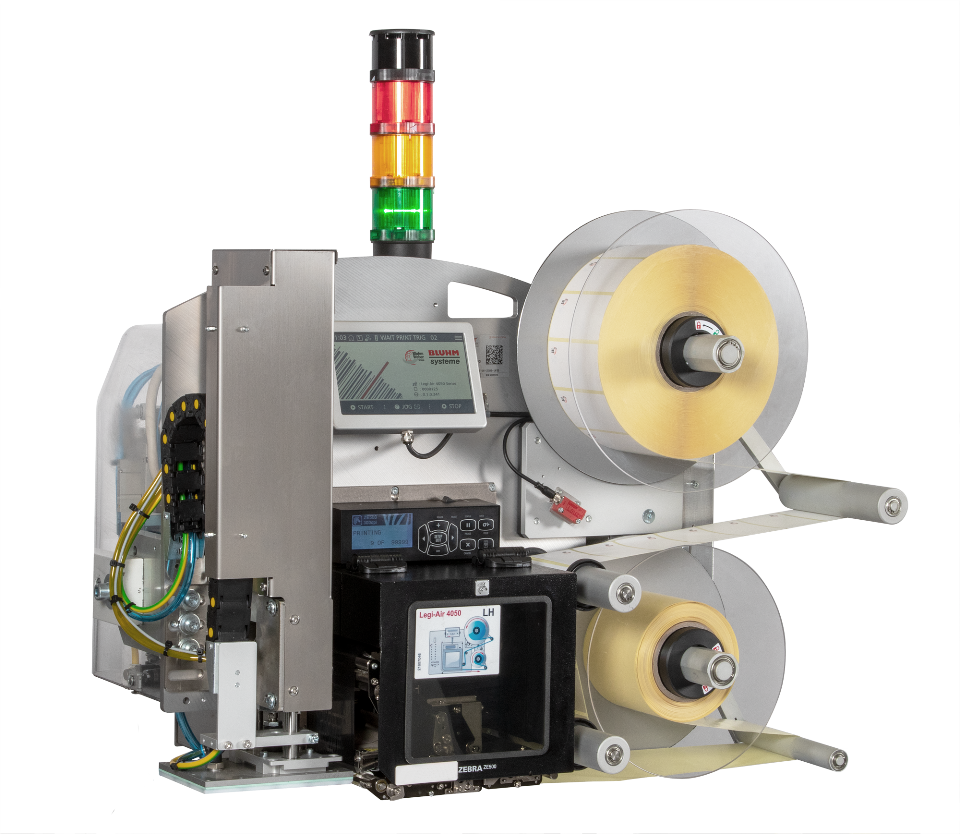 Etikettiermaschine Legi-Air 4050 E